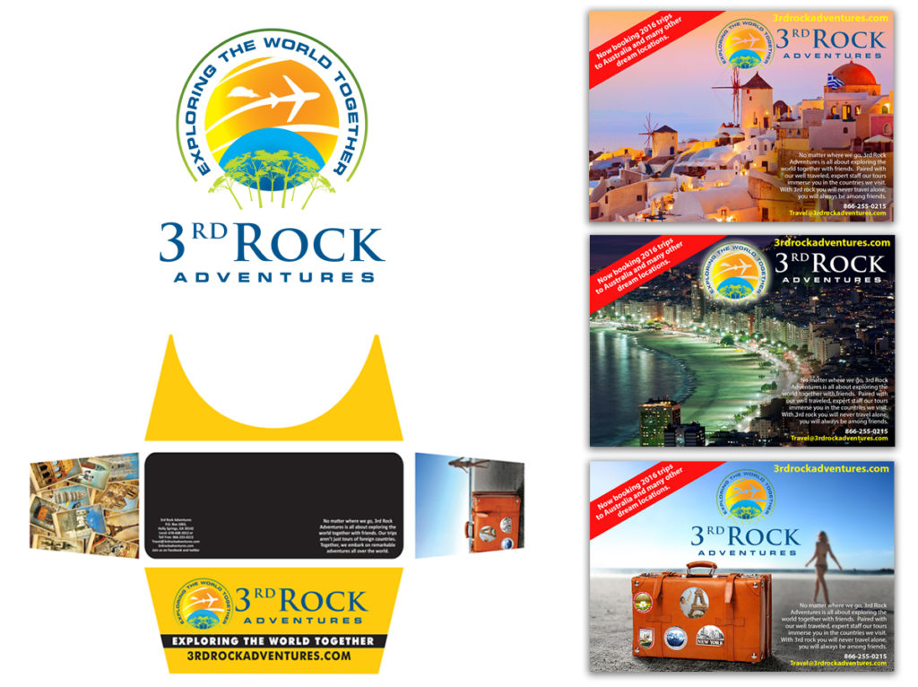 3RD Rock Adventures | Ad Designs | Display Designs