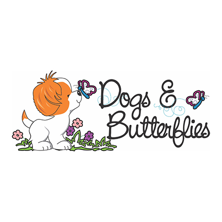 dogs and butterflies