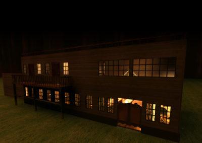 exterior night