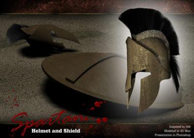 helmet and shield